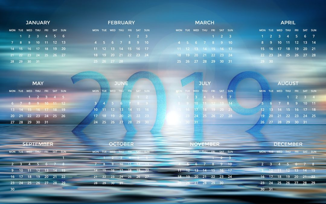 The LGC calendar for 2019